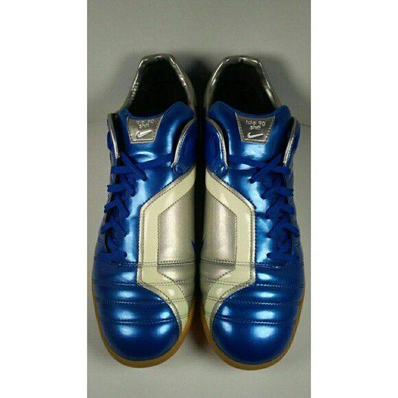 86799e384f8 Rare!! 2006 Nike Total 90 Shift IC 313862-411 Blue Grey Mens Indoor ...