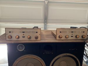Vintage Bogen Db115 Mono Integrated tube amplifiers (Pair) for Sale in Escondido, CA