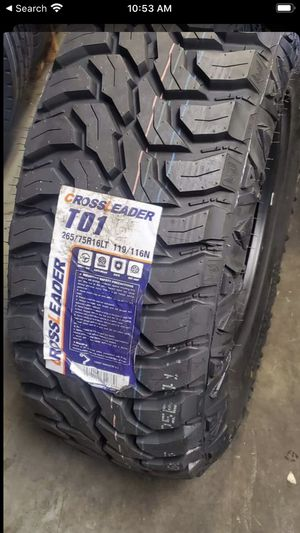 TO1 MUD TYRES @ wholesale prices—WE DELIVER ONLY for Sale in Garden Grove, CA
