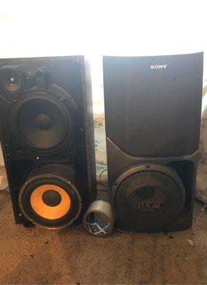 Mint 2001 Sony 200w 8 ohm speakers for Sale in Taylor, MI