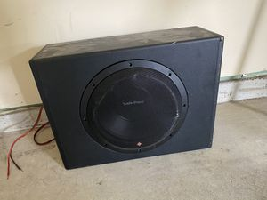 "Rockford fosgate 12"" sub for Sale in Lawrenceville, GA"