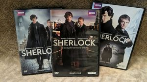 Sherlock Seasons 1-3 for Sale in Brentwood, NC