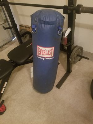 Everlast punching bag - 70# for Sale in Austin, TX