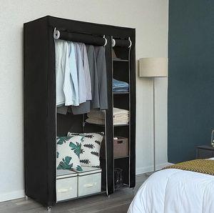 Portable Closet Organizer & Shoe Rack (Black) for Sale in Benicia, CA