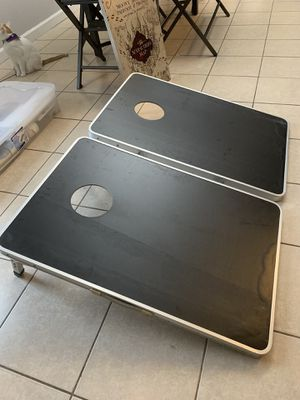 Corn hole travel set for Sale in Homestead, FL