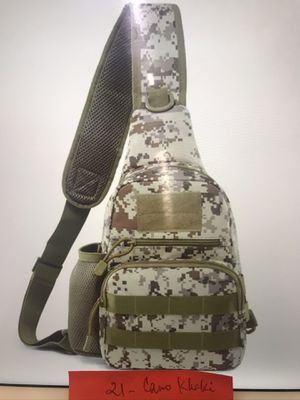 Camouflage Tactical Sling Chest Bag w/water bottle holder for Sale in San Francisco, CA