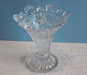 "Shannon crystal royal vase 10"" for Sale in Manassas, VA"