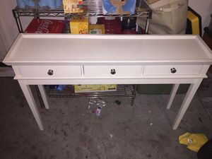 Off white Console table for Sale in Goodyear, AZ