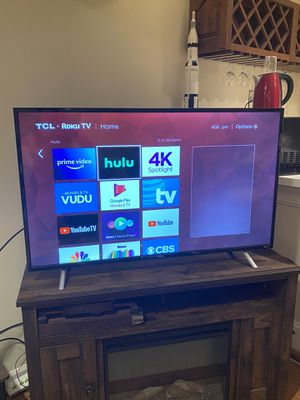 "49"" Roku TV- 2017 model- almost new condition for Sale in Rockville, MD"