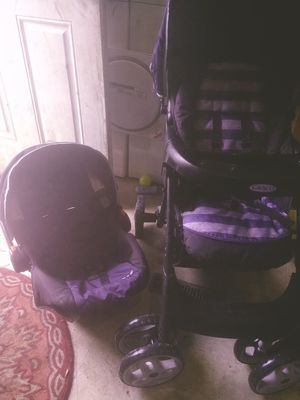 Graco car seat and stroller combo for Sale in Columbus, OH