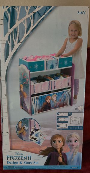 Frozen II design and store shelf for toy storage and more NEW for Sale in Phoenix, AZ