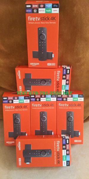 New Generation / Jailbroken / 4K Amazon Fire TV Stick HDR for Sale in Conley, GA