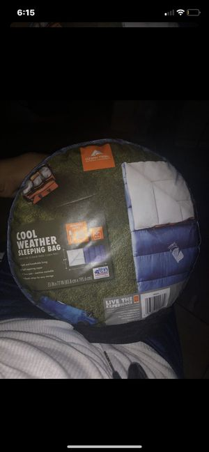 Camping sleeping bag for Sale in Fontana, CA