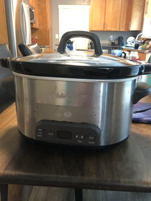 Calphalon crock pot - works perfectly for Sale in Redwood City, CA