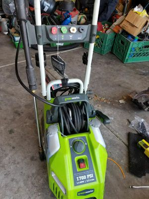 Green work pressure washer 1700 for Sale in Avondale, AZ