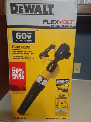 DEWALT 125 MPH 600 CFM FLEXVOLT 60-Volt MAX Lithium-Ion Cordless Axial Blower w/ (1) 3Ah Battery and Charger for Sale in Bryan, TX