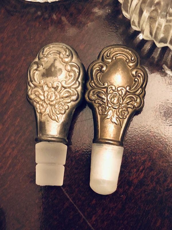 Vintage Crystal Parfumerie Decanters