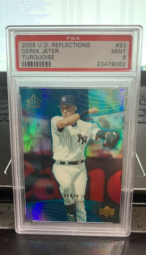 Rare Derek Jeter PSA baseball card for Sale in West Valley City, UT