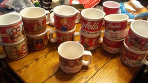 Campbell Soup Mugs and Cups. for Sale in Cairo, GA