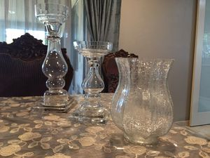 Glass candle holder for Sale in Tucson, AZ