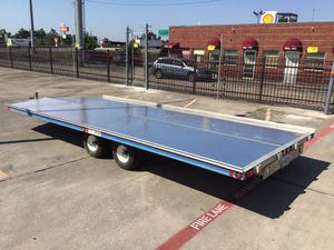 ALUMINUM TRAILER 18x20 for Sale in Dallas, TX