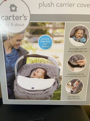 Carters Plush Carrier Cover for Sale in Aberdeen, WA