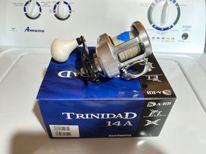 Shimano Trinidad 14a w/ braid for Sale in Huntington Beach, CA