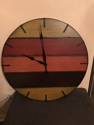 Home Decor Clock for Sale in Bloomington, CA
