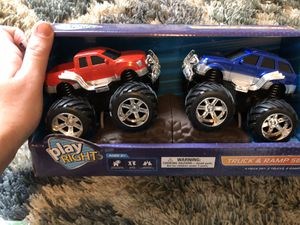 Monster truck toy set for Sale in Simpsonville, SC