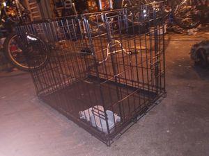 "30"" Single Door Folding Dog Kennel w/ 2 Wingnut Feeders for Sale in Tacoma, WA"