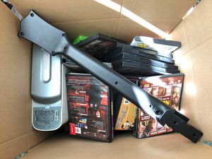 Xbox 360 with Guitar Hero, DDR, games for Sale in San Diego, CA