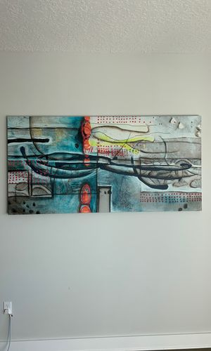 """36"""" x 72"""" Wall Art Canvas Painting for Sale in Tampa, FL"""