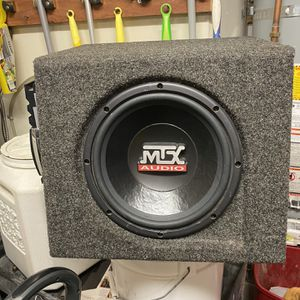 Amp Speaker And Box Combo for Sale in Morgan Hill, CA