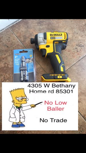 Dewalt impact DSF787 (No charger No battery) $70 No Menos (Delivery is available) for Sale in Glendale, AZ
