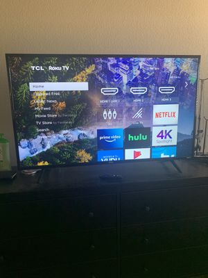 50 Inch TCL Roku 4K Smart TV for Sale in Scottsdale, AZ