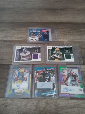 3 jersey patch. Cards and 3 autograph for Sale in Watsonville, CA