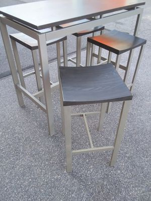 5-Piece Rectangular Pub Table SET, Whalen for Sale in Raleigh, NC