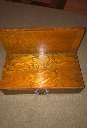 Antique oak arrow making desk for Sale in Gresham, OR