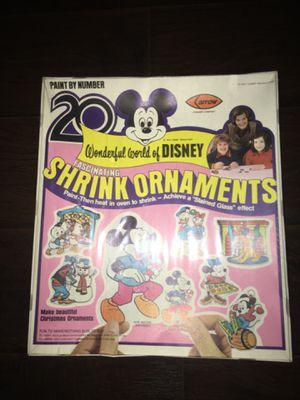 Vintage Arrow Wonderful World of Disney Shrink Ornaments 1976 Make Offer! for Sale in Westerville, OH