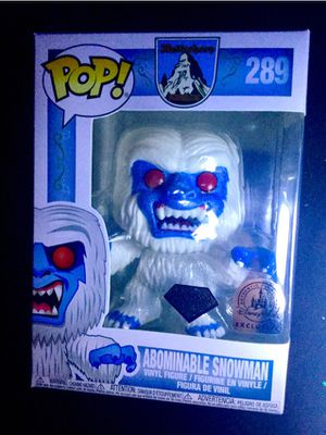 Diamond abominable snowman pop for Sale in Downey, CA