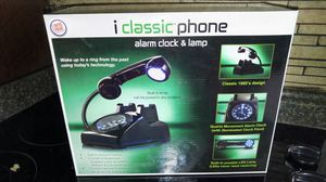 iClassic Phone Alarm Clock & Lamp for Sale in Aston, PA