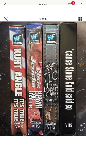 WWF WWE VHS Tapes for Sale in Los Angeles, CA