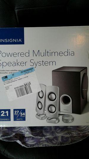 Powered Multrmedia speaker system for Sale in Salt Lake City, UT