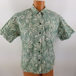 Vintage Patagonia Womens Short Sleeve Button Up Hawaiian Shirt Size Large for Sale in Gresham, OR
