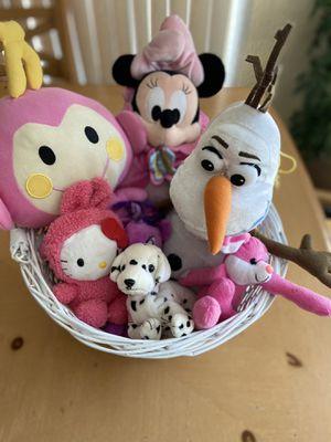 Stuffed animal basket 🧺 for Sale in Whittier, CA