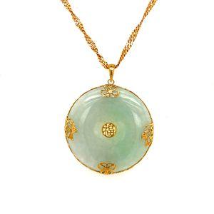 14k/10k Jade Necklace for Sale in Woodbridge, VA