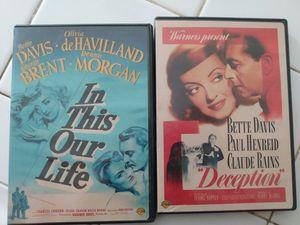 Free Bette Davis dvds for Sale in Hesperia, CA