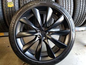 """22"""" Tesla Model X Black Onyx Factory Wheels Rims Tires OEM for Sale in Los Angeles, CA"""