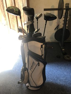 Wilson golf clubs with bag. for Sale in Cambridge, MA