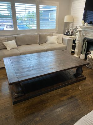 Restoration Hardware Salvaged Wood Coffee Table for Sale in Carson, CA